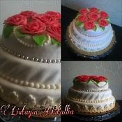Наталья Лютая - свадебные торты, Беларусь - фото 2