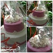 Наталья Лютая - свадебные торты, Беларусь - фото 3