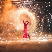 Bazinga Fire Show огненно-пиротехническое шоу, Беларусь - фото 3
