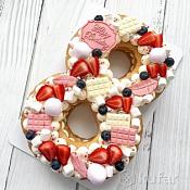 Ольга Бурлакова - свадебные торты, Беларусь - фото 3