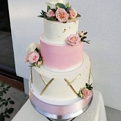 Dobromira cake - свадебные торты, Гомель - фото 2