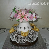 Сладкий подарок - свадебные торты, Брест - фото 3