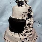 Торты ручной работы   - свадебные торты, Витебск - фото 3