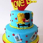 Lips Cake   - свадебные торты, Беларусь - фото 1