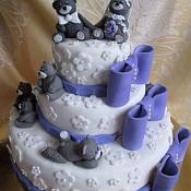 Торты на заказ   - свадебные торты, Беларусь - фото 3