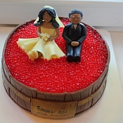 Торты и капкейки на заказ   - свадебные торты, Минск - фото 3