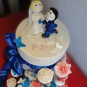 Торты капкейки фототорты   - свадебные торты, Минск - фото 2
